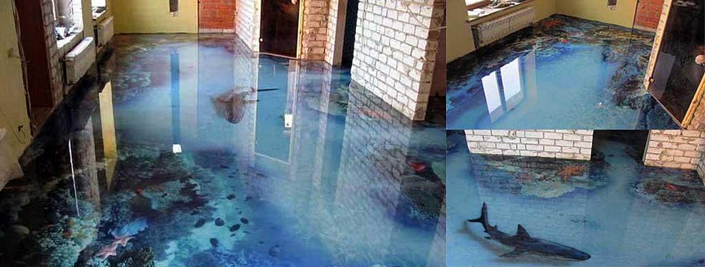 Pavimenti 3d produzione tegp for Acquario casa prezzi