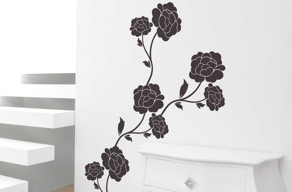 Decorazioni adesive per pareti cucina fabulous adesivi - Disegni decorativi per pareti ...